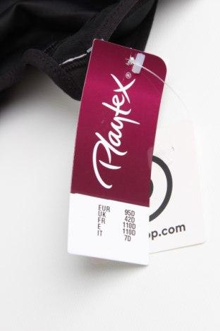 Сутиен Playtex, Размер XXL, Цвят Черен, 76% полиамид, 24% еластан, Цена 24,05лв.