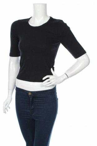 Dámska blúza Abercrombie & Fitch, Veľkosť M, Farba Čierna, 57% bavlna, 39% polyester, 4% elastan, Cena  14,25€