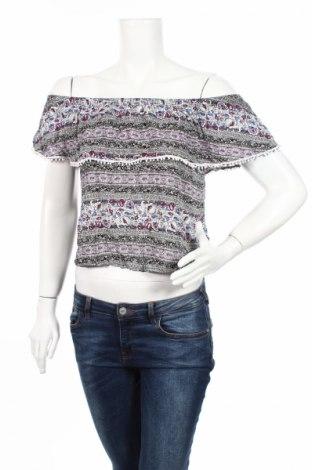 Дамска блуза Bongo, Размер L, Цвят Многоцветен, Вискоза, Цена 4,91лв.