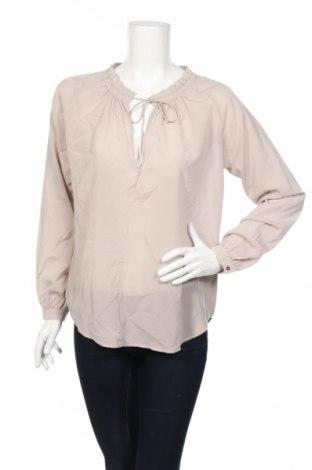 Дамска блуза Dea Kudibal, Размер L, Цвят Сив, 92% коприна, 8% еластан, Цена 19,20лв.