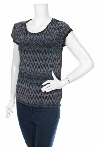 Γυναικεία μπλούζα K Woman, Μέγεθος S, Χρώμα Πολύχρωμο, 92% πολυεστέρας, 5% ελαστάνη, 3% μεταλλικά νήματα, Τιμή 3,64€