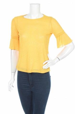 Дамска блуза Lc Waikiki, Размер XS, Цвят Жълт, Полиестер, Цена 11,76лв.