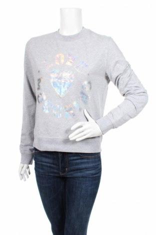 Bluză de femei Love Moschino, Mărime L, Culoare Gri, 95% bumbac, 5% elastan, Preț 289,08 Lei