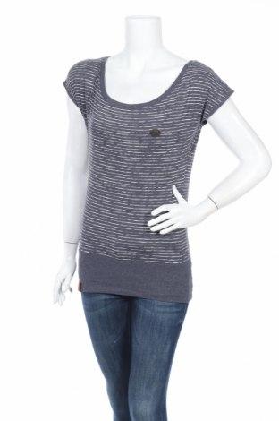 Дамска блуза Naketano, Размер S, Цвят Син, 50% памук, 50% полиестер, Цена 9,45лв.