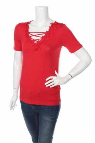 Γυναικεία μπλούζα Rainbow, Μέγεθος XS, Χρώμα Κόκκινο, 95% βισκόζη, 5% ελαστάνη, Τιμή 10,17€