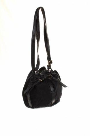 Γυναικεία τσάντα Bpc Bonprix Collection, Χρώμα Μαύρο, Κλωστοϋφαντουργικά προϊόντα, δερματίνη, Τιμή 8,66€