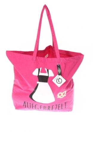 Γυναικεία τσάντα Bpc Bonprix Collection, Χρώμα Ρόζ , Κλωστοϋφαντουργικά προϊόντα, Τιμή 10,64€