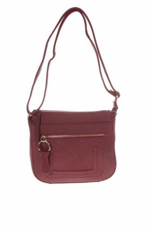 Γυναικεία τσάντα Bpc Bonprix Collection, Χρώμα Κόκκινο, Δερματίνη, Τιμή 10,72€