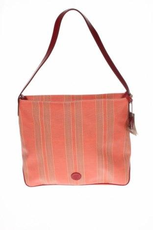 Dámska kabelka  Timberland, Farba Oranžová, Textil, pravá koža , Cena  39,51€
