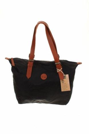 Női táska Timberland, Szín Fekete, Textil, valódi bőr, Ár 18320 Ft
