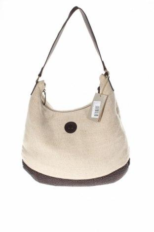 Γυναικεία τσάντα Timberland, Χρώμα  Μπέζ, Κλωστοϋφαντουργικά προϊόντα, γνήσιο δέρμα, φυσικό σουέτ, Τιμή 45,16€
