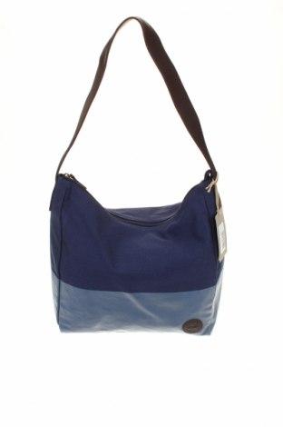Női táska Timberland, Szín Kék, Textil, valódi bőr, Ár 17520 Ft