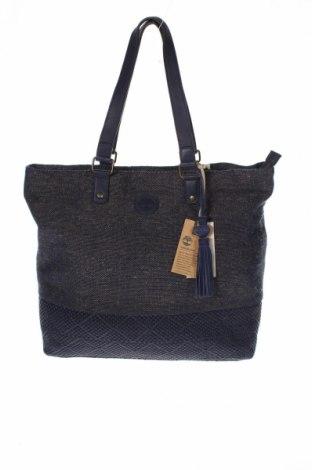 Női táska Timberland, Szín Kék, Textil, valódi bőr, valódi velúr, Ár 17520 Ft