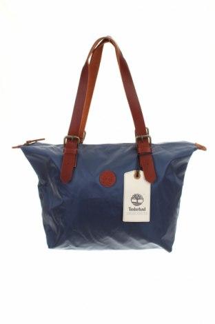Dámská kabelka  Timberland, Barva Modrá, Textile , pravá kůže, Cena  996,00Kč