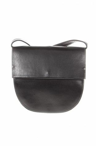 Γυναικεία τσάντα Topshop, Χρώμα Μαύρο, Γνήσιο δέρμα, φυσικό σουέτ, Τιμή 31,17€