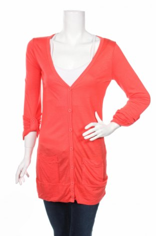 Дамска жилетка Ichi, Размер S, Цвят Оранжев, 100% вискоза, Цена 8,52лв.