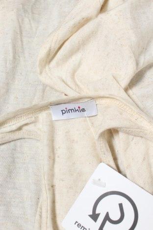 Дамска жилетка Pimkie, Размер S, Цвят Бежов, 79% вискоза, 15% лен, 6% еластан, Цена 5,45лв.