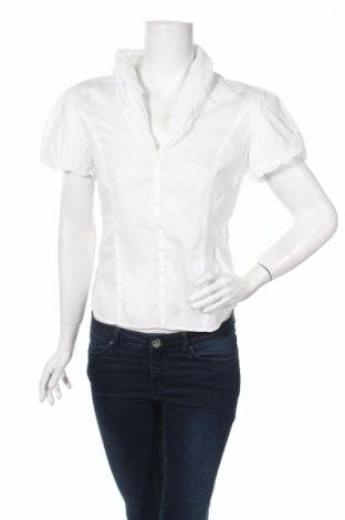 Дамска риза Andrews, Размер M, Цвят Бял, Цена 4,60лв.