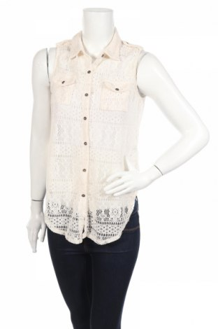 Дамска риза Ardene, Размер S, Цвят Бежов, Полиестер, Цена 4,20лв.