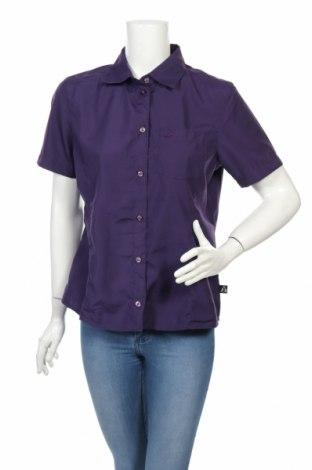 Дамска риза Bergson, Размер M, Цвят Лилав, 85% полиестер, 15% вискоза, Цена 10,24лв.