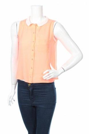Дамска риза Bershka, Размер M, Цвят Розов, Цена 5,51лв.