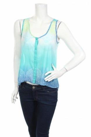 Дамска риза Candie's, Размер S, Цвят Многоцветен, Полиестер, Цена 4,73лв.
