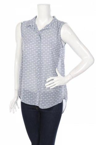 Дамска риза H&M, Размер L, Цвят Син, Полиестер, Цена 4,46лв.