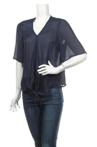 Γυναικείο πουκάμισο Jeane Blush, Μέγεθος XS, Χρώμα Μπλέ, Πολυεστέρας, Τιμή 3,21€