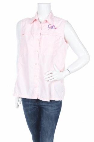 Дамска риза L.L. Bean, Размер L, Цвят Розов, 71% полиамид, 29% полиестер, Цена 4,54лв.