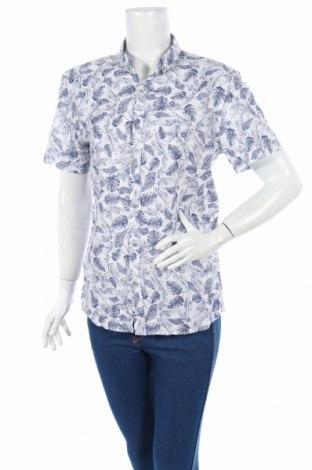 Дамска риза LCW, Размер M, Цвят Син, Памук, Цена 11,60лв.