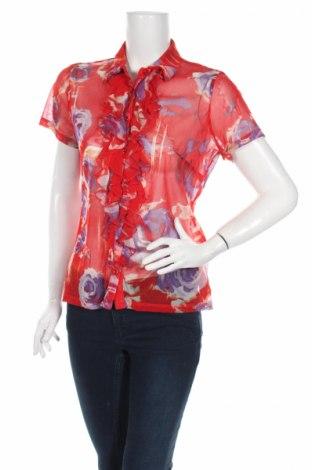Γυναικείο πουκάμισο Marie Méro, Μέγεθος M, Χρώμα Πολύχρωμο, Πολυαμίδη, Τιμή 5,85€