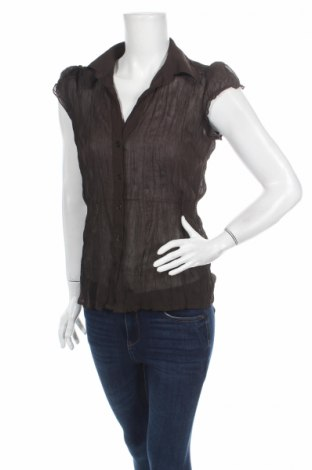 Дамска риза Mexx, Размер S, Цвят Кафяв, Полиестер, Цена 3,94лв.