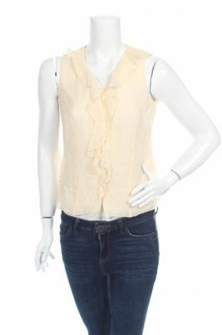 Дамска риза Nine West, Размер XS, Цвят Екрю, 100% коприна, Цена 36,79лв.