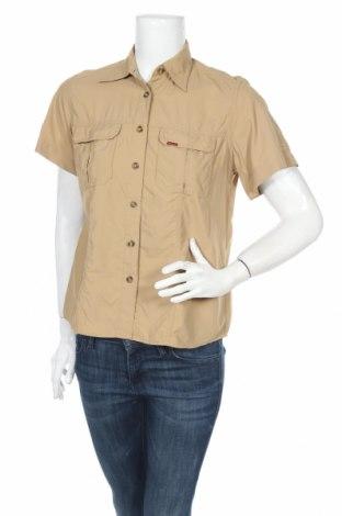 Γυναικείο πουκάμισο Tenson, Μέγεθος S, Χρώμα  Μπέζ, Πολυαμίδη, Τιμή 3,12€