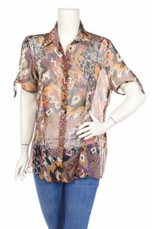 Дамска риза Via Cortesa, Размер L, Цвят Многоцветен, Полиестер, Цена 4,73лв.