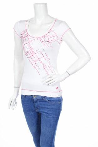 Dámské tričko Adidas, Rozměr S, Barva Bílá, 87% polyester, 13% elastan, Cena  244,00Kč