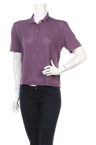 Дамска тениска Chervo, Размер L, Цвят Лилав, 95% полиамид, 5% еластан, Цена 8,00лв.