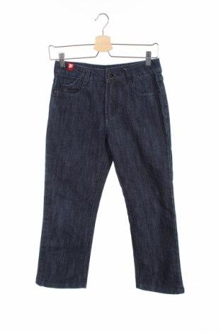 Дамски дънки Mk Jeans, Размер XS, Цвят Син, 96% памук, 4% еластан, Цена 7,04лв.