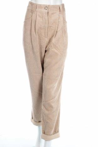Дамски джинси Topshop, Размер L, Цвят Бежов, 87% полиестер, 13% полиамид, Цена 39,06лв.