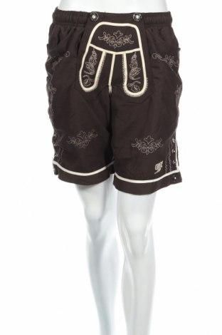 Γυναικείο κοντό παντελόνι, Μέγεθος M, Χρώμα Καφέ, 100% πολυεστέρας, Τιμή 3,51€