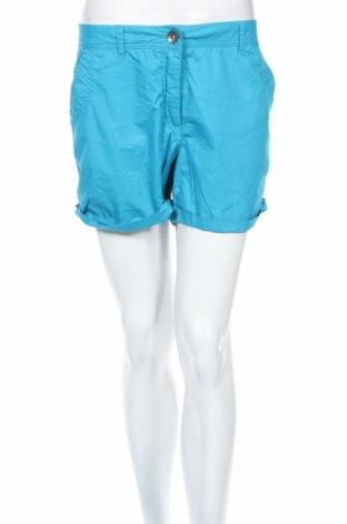 Дамски къс панталон Crane, Размер L, Цвят Син, Памук, Цена 11,81лв.