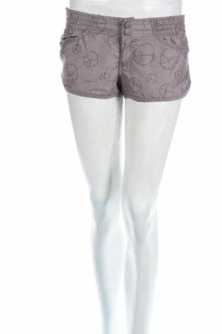 Дамски къс панталон Gate, Размер XS, Цвят Сив, 100% полиестер, Цена 4,20лв.