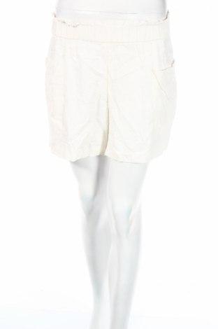 Γυναικείο κοντό παντελόνι H&M, Μέγεθος XS, Χρώμα Λευκό, 80% βισκόζη, 20% λινό, Τιμή 2,92€