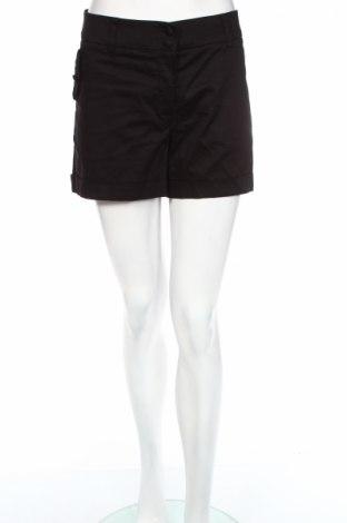 Дамски къс панталон H&M, Размер XL, Цвят Черен, 97% памук, 3% еластан, Цена 12,60лв.