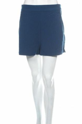 Dámske kraťasy  H&M, Veľkosť L, Farba Modrá, 93% polyester, 7% elastan, Cena  3,63€