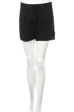 Дамски къс панталон H&M, Размер S, Цвят Черен, Памук, Цена 18,11лв.
