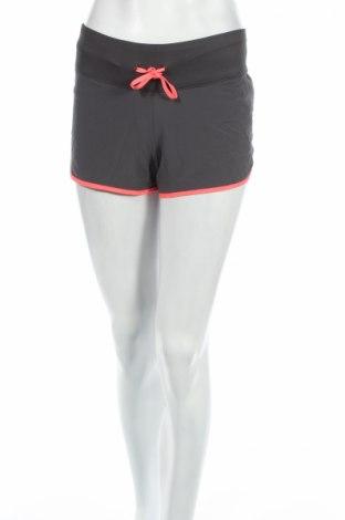 Pantaloni scurți de femei H&M Sport, Mărime XS, Culoare Gri, 86% poliester, 14% elastan, Preț 30,79 Lei