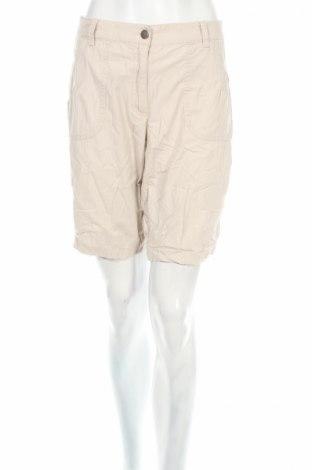 Дамски къс панталон Hs Jeans, Размер L, Цвят Бежов, 97% памук, 3% еластан, Цена 11,50лв.