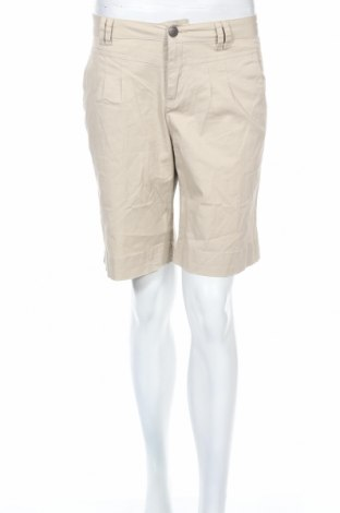 Дамски къс панталон Liv, Размер M, Цвят Бежов, 97% памук, 3% еластан, Цена 12,60лв.
