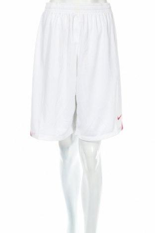 Γυναικείο κοντό παντελόνι Nike, Μέγεθος XXL, Χρώμα Λευκό, Πολυεστέρας, Τιμή 9,74€